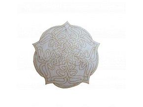 Dřevěná mandala